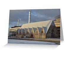 Winter in Gothenburg Greeting Card