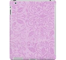 Lilac Scrolls iPad Case/Skin