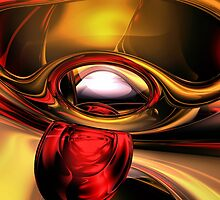 Eye of the Gods Abstract by Alexander Butler