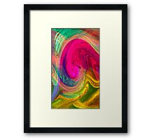 Untitled abstract 133- Art + Design products Framed Print
