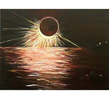 The eclipse Photographic Print