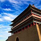Zhengyangmen Gate - Beijing, China by Alex Zuccarelli