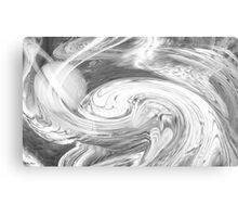 Untitled abstract 132- Black and white- Art + Design products Canvas Print