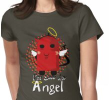 I'm Sooo An Angel Womens Fitted T-Shirt