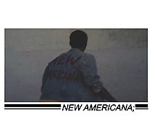 we are the new americana Photographic Print
