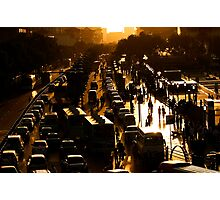 Rush-Hour Traffic - Xi'an, China Photographic Print