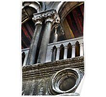 Doges Palace Columns Poster
