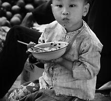 Chinese Boy - Xingping, China by Alex Zuccarelli