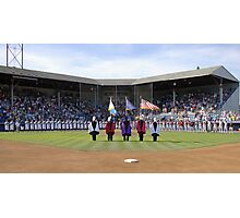 Eugene Emeralds' final game at Civic Stadium, opening ceremony. Photographic Print