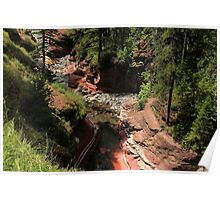 Red Rock Canyon - Waterton Poster