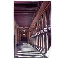 Doges Palace Hallway Poster
