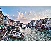 Rialto View Photographic Print