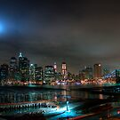 Brooklyn 2009 911 Memorial Lights by Peter Bellamy