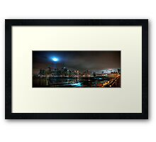 Brooklyn 2009 911 Memorial Lights Framed Print