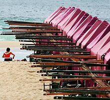 A beach by Manuel Gonçalves