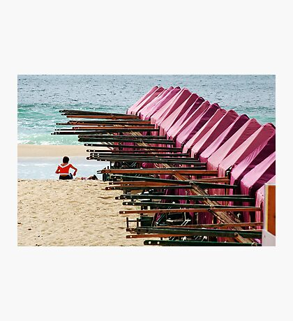 A beach Photographic Print