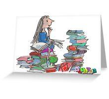 Matilda Wormwood Greeting Card