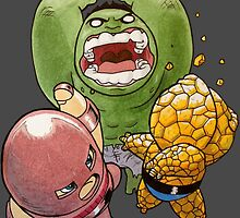 Heavy Weight Smack Down  by GrizzlyJerr