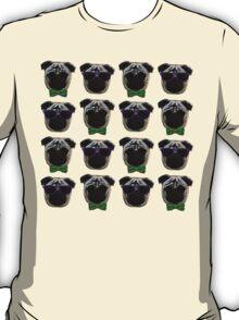"""Cool Pugs"" green/purple T-Shirt"