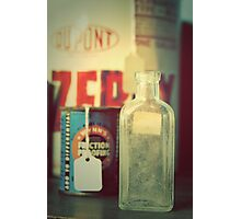 the bottle Photographic Print