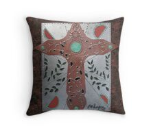 Mother Natures Cross Throw Pillow