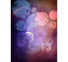 Colorful grunge Photographic Print