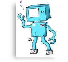 Oh Hai, I'm a Robot! Canvas Print