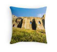 Barnard Castle Walls Throw Pillow
