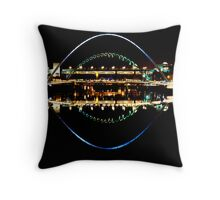 Tyne Bridges Throw Pillow
