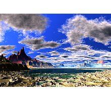 Tidal Bore - Low Tide Photographic Print