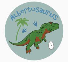 Cute Albertosaurus Kids Clothes
