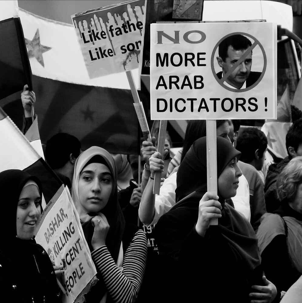No More Dictators by Andrew  Makowiecki