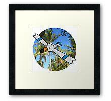 Tropical Framed Print