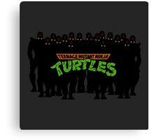 TMNT - Foot Soldiers - Teenage Mutant Ninja Turtles Canvas Print