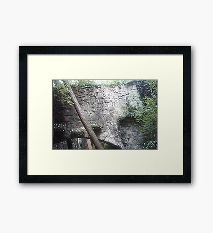 Stone Bridge Framed Print