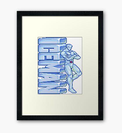 Iceman Framed Print