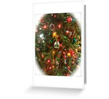 Old Fashioned Christmas Tree Greeting Card