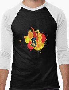 Nollie Nose Manual Men's Baseball ¾ T-Shirt