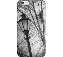 A Street Lamp In Wellesley  iPhone Case/Skin