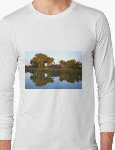 Reflections at Sunset Long Sleeve T-Shirt