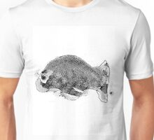 reclining declining, saturday and another fish takes to the sea - the tee 4 Unisex T-Shirt