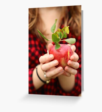 Red, Red Apple Greeting Card