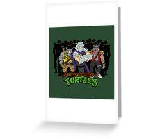 TMNT - Foot Soldiers with Shredder, Bebop & Rocksteady - Teenage Mutant Ninja Turtles Greeting Card