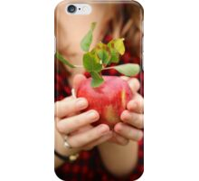 Red, Red Apple iPhone Case/Skin