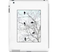 Five Crows in a Tree iPad Case/Skin