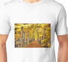 The Autumn Path Unisex T-Shirt