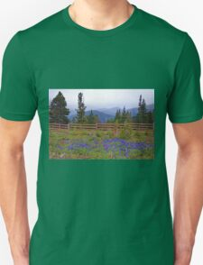 Mountain Meadow in Purple T-Shirt