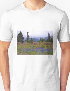 Mountain Meadow in Purple T-Shirt