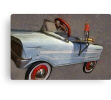 Drive In Pedal Car Canvas Print