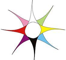 Colourful Races - Textile Design by Valentina Miletic by Valentina Miletic